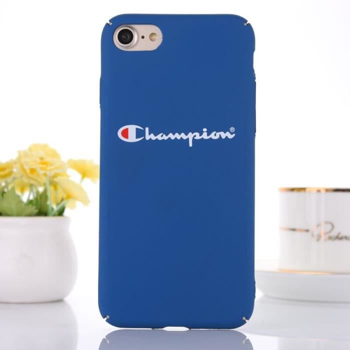 champion coque apple iphone 8 plus 8s plus bleu