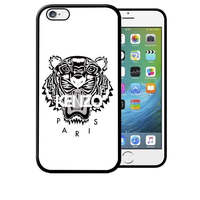 coque iphone 5 5s kenzo blanc swag vintage
