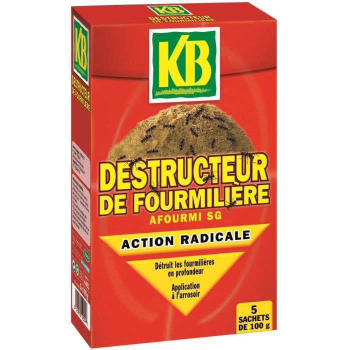 destructeur de fourmili re 500g achat vente produit insecticide destructeur de fourmili re. Black Bedroom Furniture Sets. Home Design Ideas