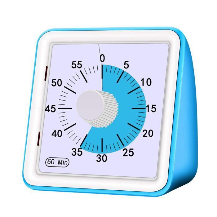 Minuterie de compte /à rebours m/écanique Prise de minuterie /électrique 30Min Robuste Plug-In M/écanique Commutateur Commutateur Prise de commande CA 220V 10A Minuterie de sortie m/écanique