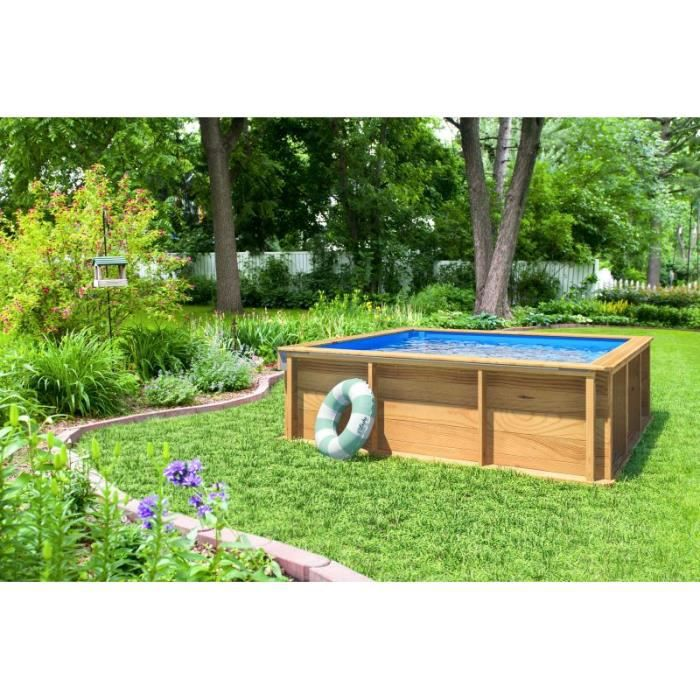 Piscine bois pistoche achat vente piscine piscine bois for Bestway pool for koi
