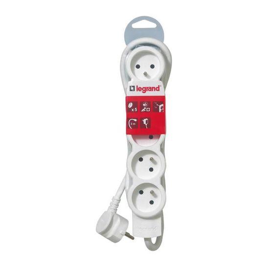 Rallonge Multiprises Standard LEG50059 Legrand Cordon 3 m