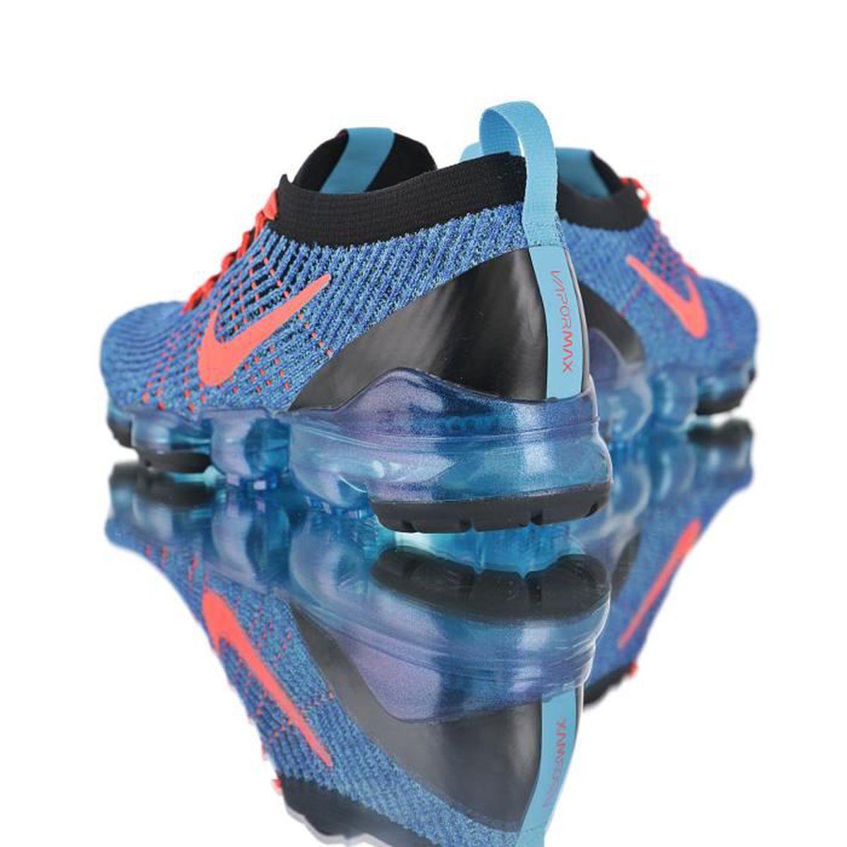 Baskets Nike Air VaporMax Flyknit W 3.0 Bleu Rose Homme et Femme ...