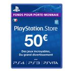 ABONNEMENT JEUX Playstation Network Live Card 50 € PS Vita-PSP-PS3