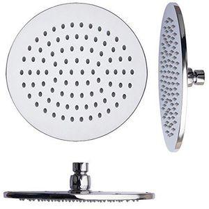 Argent/é FYLINA TI98015 Set Pomme de douche 15cm Head with 150cm Shower Hose