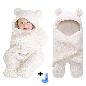 NID D'ANGE nouveau-né coton mignon en peluche endormi Swaddle