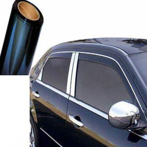 Film Teinté Approuvé par ABG Assombrissement 1/% Auto Noir 75cm x 3mètres Vitres