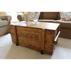 TABLE BASSE  Table Basse, Table d'appoint vintage style shabby