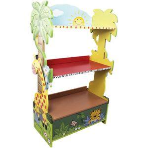 BIBLIOTHÈQUE  Meuble bibliothèque en bois enfant avec un tiroir