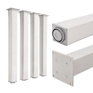 PIED DE TABLE Pieds de table, 100% aluminium, hauteur réglable |