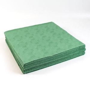 NAPPE DE TABLE Green Paper Tablecovers - 90cm x 90cm - Pack of 25