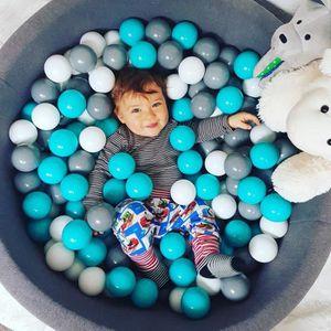 PISCINE À BALLES Piscine à Balles 40cm + 300 balles pour Enfants Bé