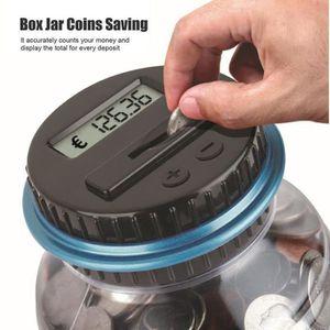 TIRELIRE Compteur d'épargne de pièce de monnaie numérique c