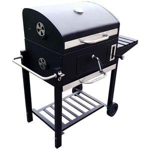 BARBECUE Barbecue à charbon de bois américain 60x40cm Charl