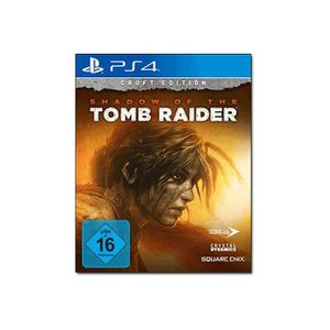 JEU PS4 Shadow of the Tomb Raider Croft Edition PlayStatio