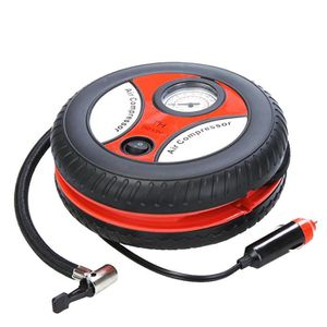COMPRESSEUR AUTO électrique Compresseur d'air des pneus 12V Portabl