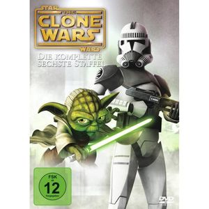 DVD FILM DVD - Star Wars the Clone Wars - 6. Staffel [Impor