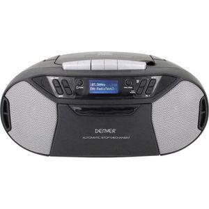 RADIO CD CASSETTE Denver TDC-250 Radio-lecteur CD DAB+, FM AUX, CD,