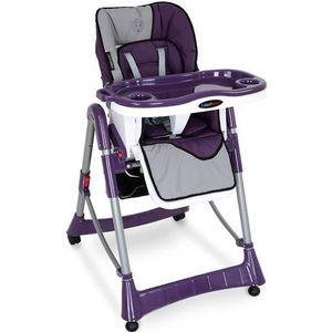 CHAISE HAUTE  Chaise haute - Shadow Purple KHST03(S.P.)-1 Pou...