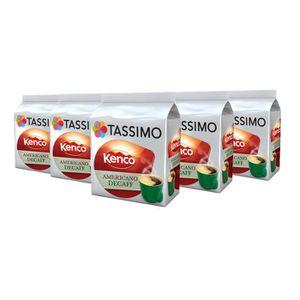 CAFÉ TASSIMO Kenco Decaf café, T-Discs Capsules, dosett