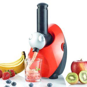 SORBETIÈRE Machine à glaces aux fruits express