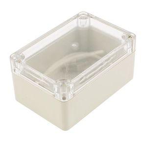 sourcingmap/® 100x68x40mm couvercle transparent bo/îte jonction /étanche Bo/îtier Bo/îte /à bornes