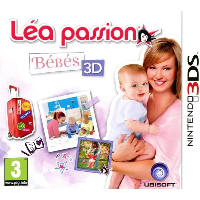 lea passion bebes 3d jeu console 3ds achat vente jeu 3ds lea passion bebes 3d jeu 3ds. Black Bedroom Furniture Sets. Home Design Ideas