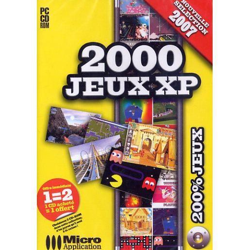 2000 JEUX XP / PC CD-ROM