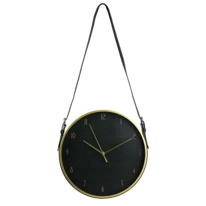 THE HOME DECO FACTORY Horloge Déco Art - 30,5 cm