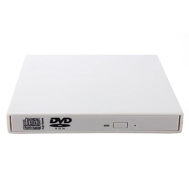 Lecteur de Cd Dvd lecteur Usb 2.0 Combo externe compatible pour Pc
