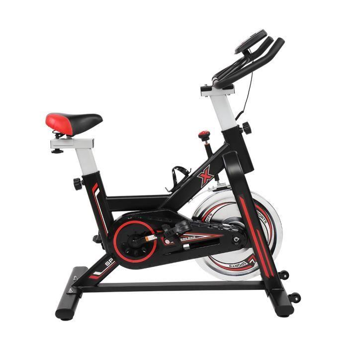 Vélo d'Exercice d'Intérieur Cyclisme Vélo Stationnaire Maison Entraînement Gym Cardio 5- 8 vitesses