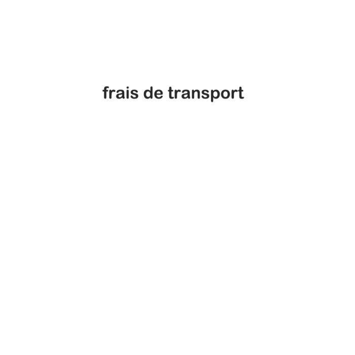 frais de transport