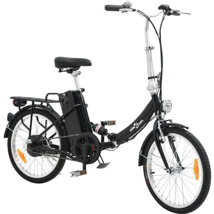 Vélo électrique pliant en alliage d'aluminium et batterie lithium-ion -PAI