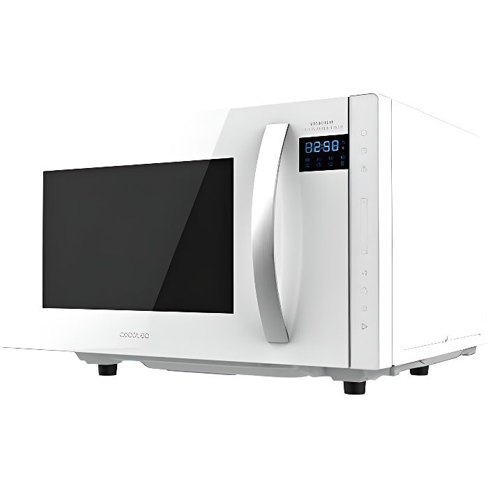 Cecotec Micro-ondes sans soucoupe GrandHeat 2300 Flatbed Touch White