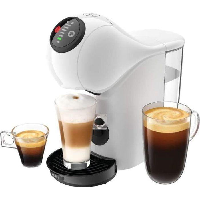 KRUPS Genio S Blanc Machine à Café Cafetière Fonction XL Intuitive Boissons Froides ou Chaudes Mode Eco Témoin Détartrage
