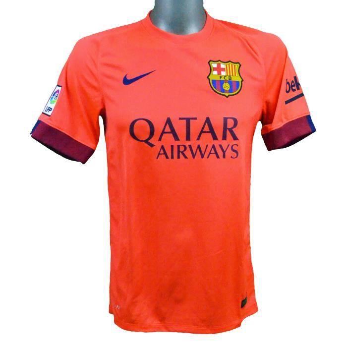 Maillot extérieur FC Barcelone 2014/2015 Iniesta