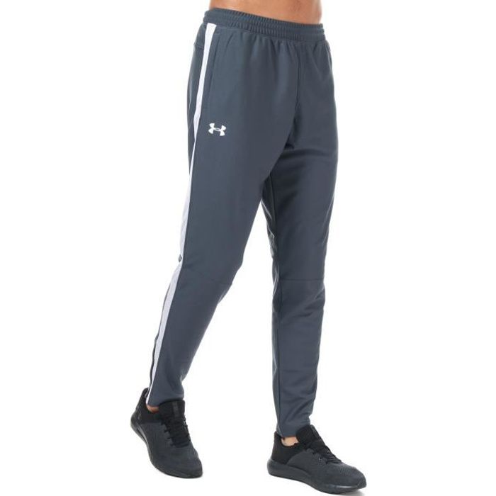 Under Armour Pantalon Sportstyle Pique Gris Homme