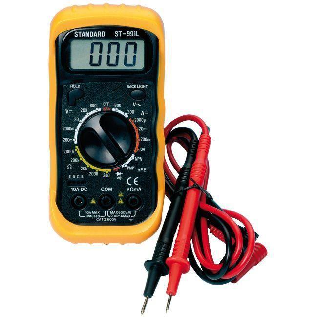 Multitesteur digital - 600 V