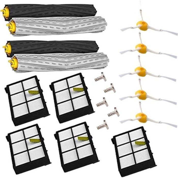Brosses Et Filtres Kit De Remplacement Pour Irobot Roomba 800-900 Series 800 860 870 880 900 980 Pieces De Rechange Accessoires