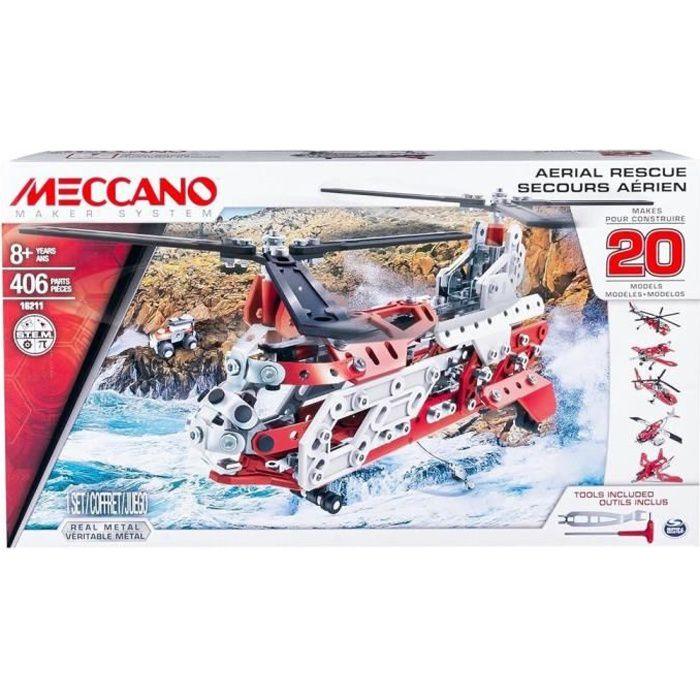 MECCANO Helicoptere - 20 Modèles à construire - Jeu de construction