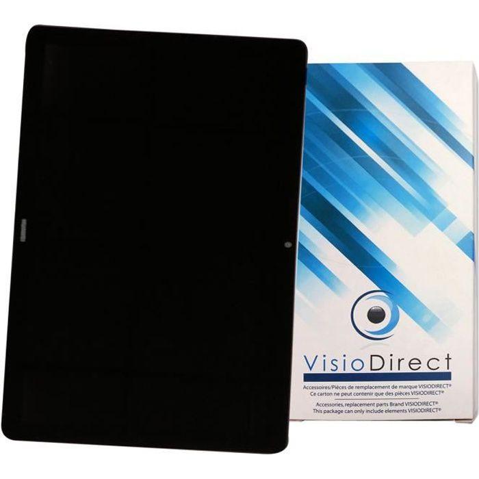 Ecran complet pour HUAWEI MediaPad T5 10.1- tablette Vitre tactile + écran LCD - Visiodirect