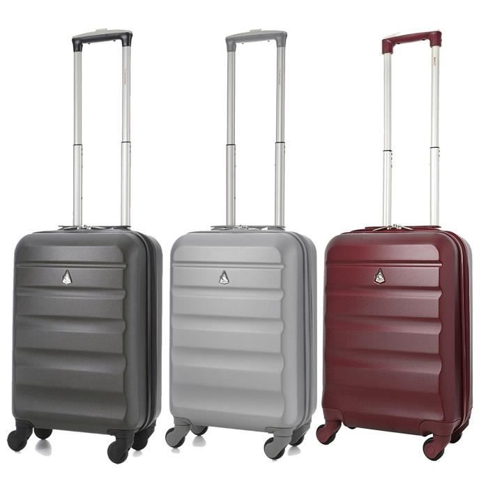 Photo de aerolite-abs-bagage-cabine-bagage-a-main-valise-rigide