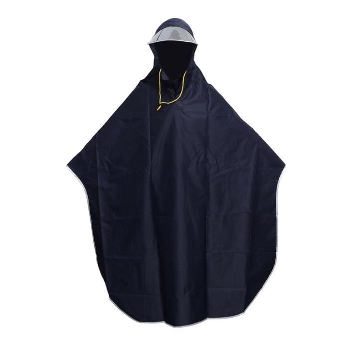 Cape de pluie Poncho Protection Eau Plastique Vêtements Inperméable Randonnée