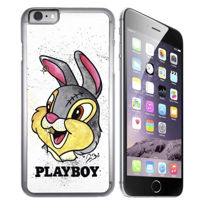 coque iphone 7 plus panpan lapin playboy