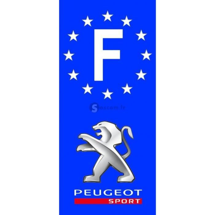sticker plaque immatriculation peugeot achat vente sticker plaque immatriculation peugeot. Black Bedroom Furniture Sets. Home Design Ideas