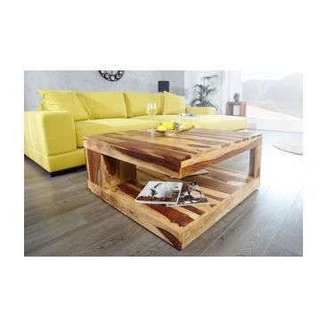 Table basse design de salon s jour carr e qua achat for Table sejour design