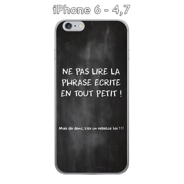 coque apple iphone 6 4 7 citation tableau 3