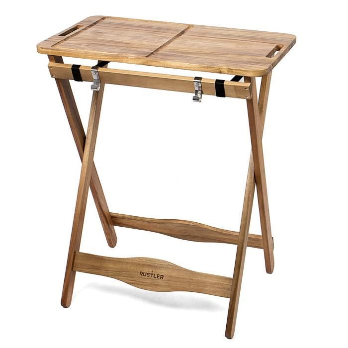 Rustler Table De Travail Préparation Table D Appoint Pliante Table De Jardin Avec Tablette Amovible Repliable Pour Cuisi Achat Vente Barbecue Rustler Table De Travail 625 Cdiscount