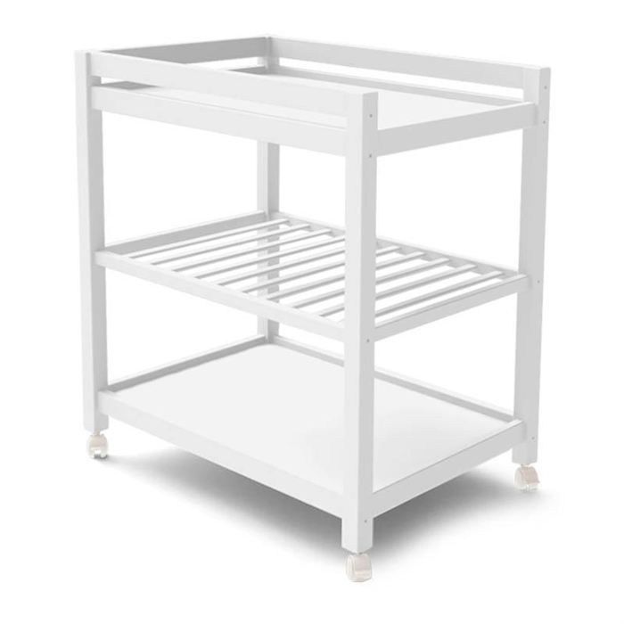 Table langer childwood blanche blanc achat vente for Table a langer en solde
