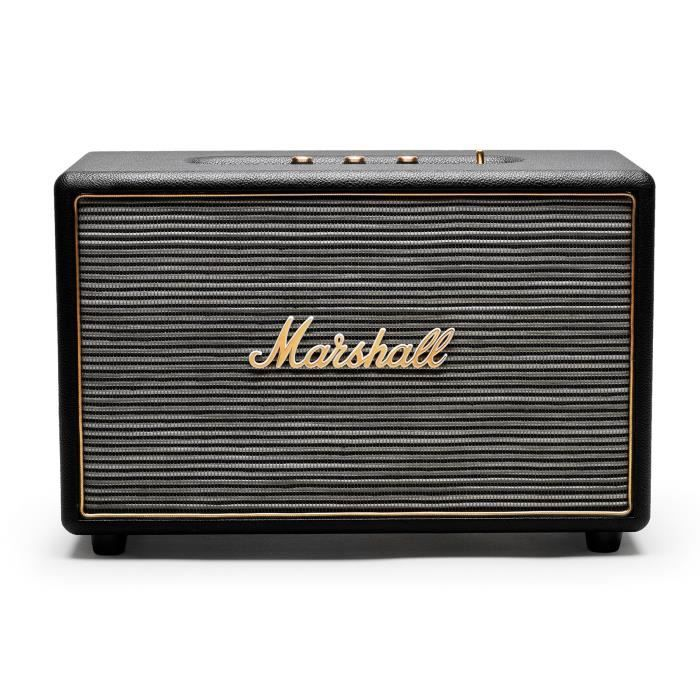 marshall enceinte stanmore noir enceintes bluetooth. Black Bedroom Furniture Sets. Home Design Ideas